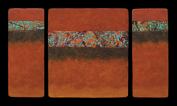 Canyon Walls: OBO M+ Triptych