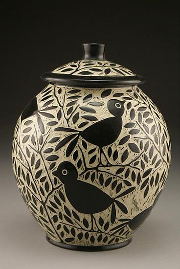 Blackbird Cookie Jar