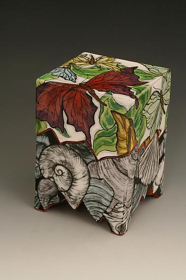 Persephone Box With Butterflies By Farraday Newsome