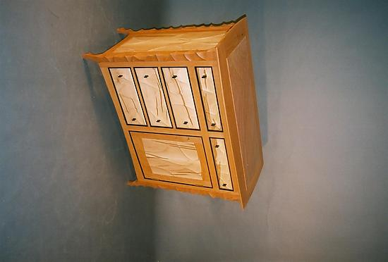 Cherry Console Cabinet