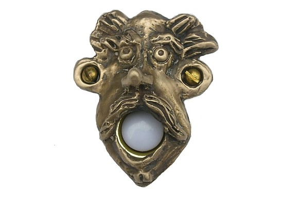 Rupert Doorbell Cover By Rosalie Sherman Metal Doorbell