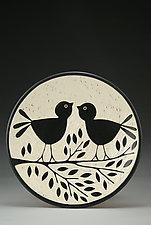 Love Birds by Jennifer  Falter (Ceramic Bowl)