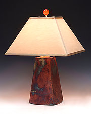 Aurora Lamp by Mary Obodzinski (Ceramic Table Lamp)