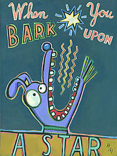 When You Bark Upon a Star by Hal Mayforth (Giclee Print)
