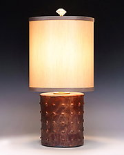 Galileo Lamp by Mary Obodzinski (Ceramic Table Lamp)