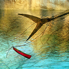 Fish Tale by Patricia Barry Levy (Pigment Print)