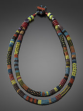 Zanzibar Necklace by Julie Powell (Beaded Necklace)