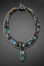 Un Peu de Tout Necklace by Julie Powell (Beaded Necklace)