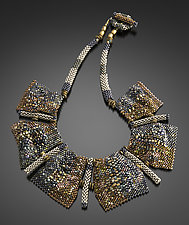 Terrain Necklace by Julie Powell (Beaded Necklace)