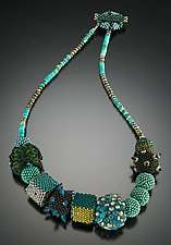 Interstellar Necklace by Julie Powell (Beaded Necklace)