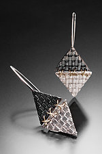 XXX Woven Earrings by Linda Bernasconi (Jewelry Earrings)