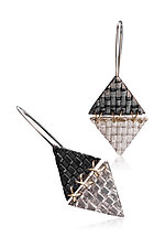 XXX Earrings by Linda Bernasconi (Gold & Silver Earrings)