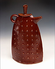 Terese Teapot by Mary Obodzinski (Ceramic Teapot)