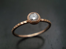 Stone Stack Rose by Tavia Brown (Gold & Stone Ring)