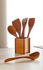 Spoon Set by Jonathan Simons (Wood Serving Utensils)