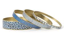 Channel Bracelets by Louise Fischer Cozzi (Polymer Clay Bracelet)