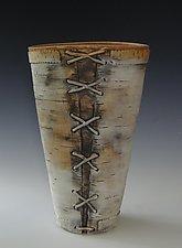 Homage Number 9 by Lenore Lampi (Ceramic Vase)