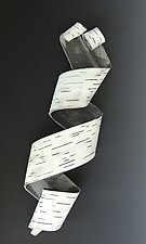 Solo Furl Number One by Lenore Lampi (Ceramic Wall Sculpture)