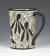 Coneflower Mug by Jennifer  Falter (Ceramic Mug)
