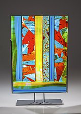 Sunshine by Varda Avnisan (Art Glass Sculpture)