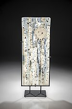 Moonrise by Varda Avnisan (Art Glass Sculpture)