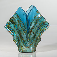 Seaside Vessel by Varda Avnisan (Art Glass Vessel)