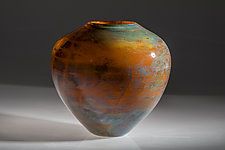 Autumn by Varda Avnisan (Art Glass Vase)
