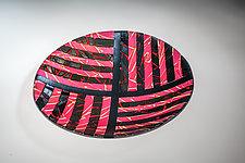 Sunset Maze by Varda Avnisan (Art Glass Bowl)