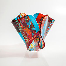 Capri by Varda Avnisan (Art Glass Sculpture)