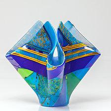 End of Summer by Varda Avnisan (Art Glass Sculpture)