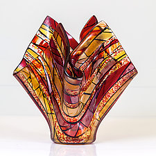 Venice by Varda Avnisan (Art Glass Vessel)