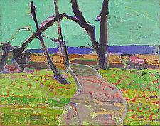 Light Path by Leonard Moskowitz (Acrylic Painting)
