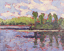 Deep River by Leonard Moskowitz (Oil Painting)