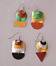 Geometric Earrings by Sylvi Harwin (Aluminum Earrings)