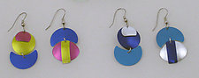 Geometric Fun Earrings by Sylvi Harwin (Aluminum Earrings)
