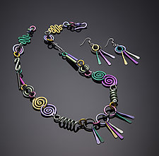 Swirls Jewelry by Sylvi Harwin (Aluminum Jewelry)