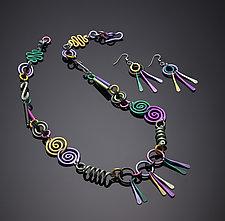Swirls Jewelry by Sylvi Harwin (Aluminum Jewelry)