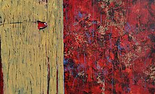 Rustic and Red by Nancy Eckels (Acrylic Painting)
