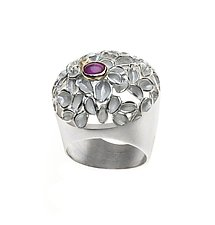 Big Ring by Analya Cespedes (Silver & Stone Ring)