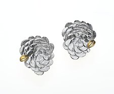New Floral Earrings by Analya Cespedes (Gold & Silver Earrings)