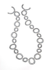 Spiral Necklace by Analya Cespedes (Silver Necklace)