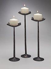 Nest Candleholders by Luke Proctor (Metal Candleholders)