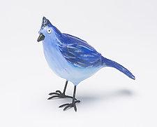 Barry Blue by Rosalie Sherman (Resin Sculpture)