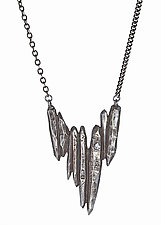 Dark Starla Pendant by Heather Perry (Silver & Stone Necklace)