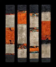 Canyon Walls: Talking Sticks by Kara Young (Mixed-Media Wall Hanging)