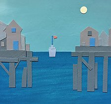 Harbor Ferry I by Suzanne Siegel (Giclee Print)