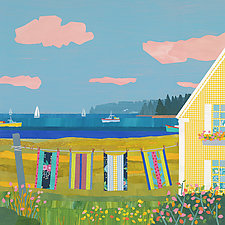 Harbor Cottage I by Suzanne Siegel (Giclee Print)