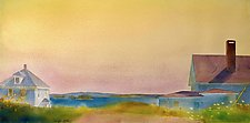 Lookout I by Suzanne Siegel (Watercolor Painting)