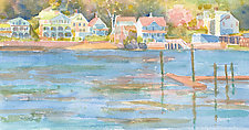 Stony Creek, Spring by Suzanne Siegel (Watercolor Painting)