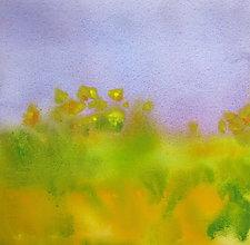 Field III by Suzanne Siegel (Watercolor Painting)